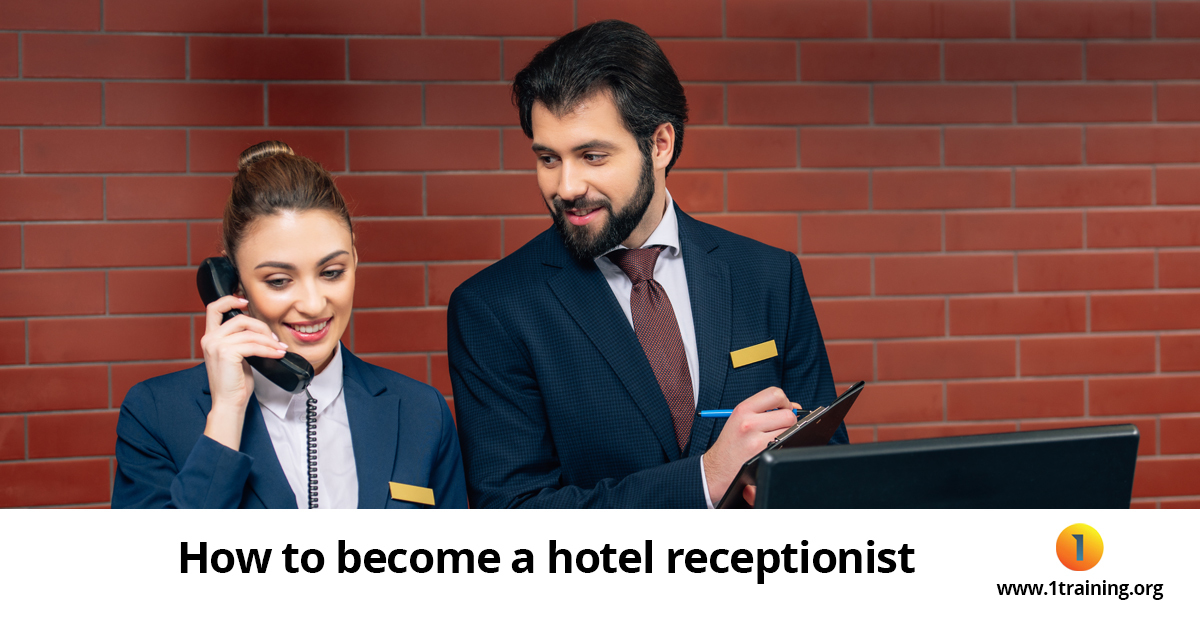 how to become a hotel receptionist